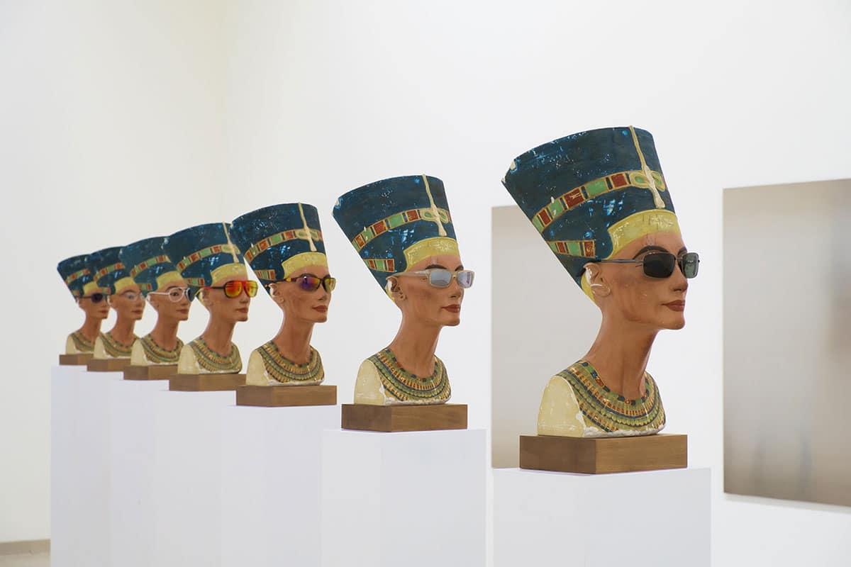 Isa Genzken, Nofretete, MMK Museum für Moderne Kunst, Frankfurt