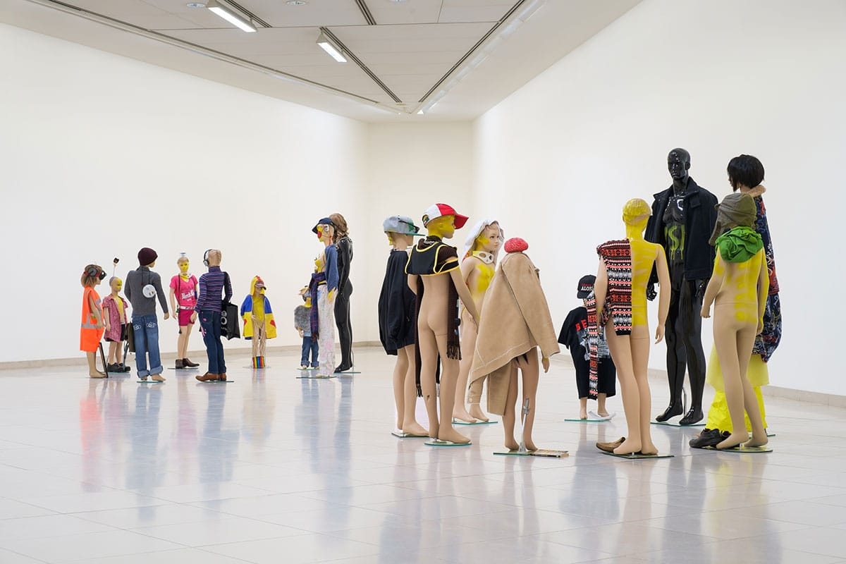 Isa Genzken, Schauspieler, MMK Museum für Moderne Kunst, Frankfurt