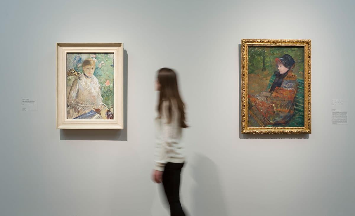 """Ausstellungsansicht """"Monet und die Geburt des Impressionismus"""""""