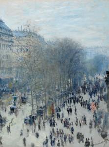 Claude Monet, Der Boulevard des Capucines, 1873-1874