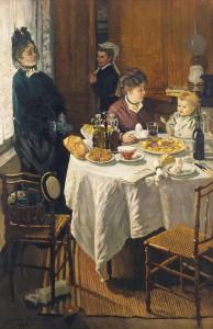 Claude Monet, Das Mittagessen, 1868