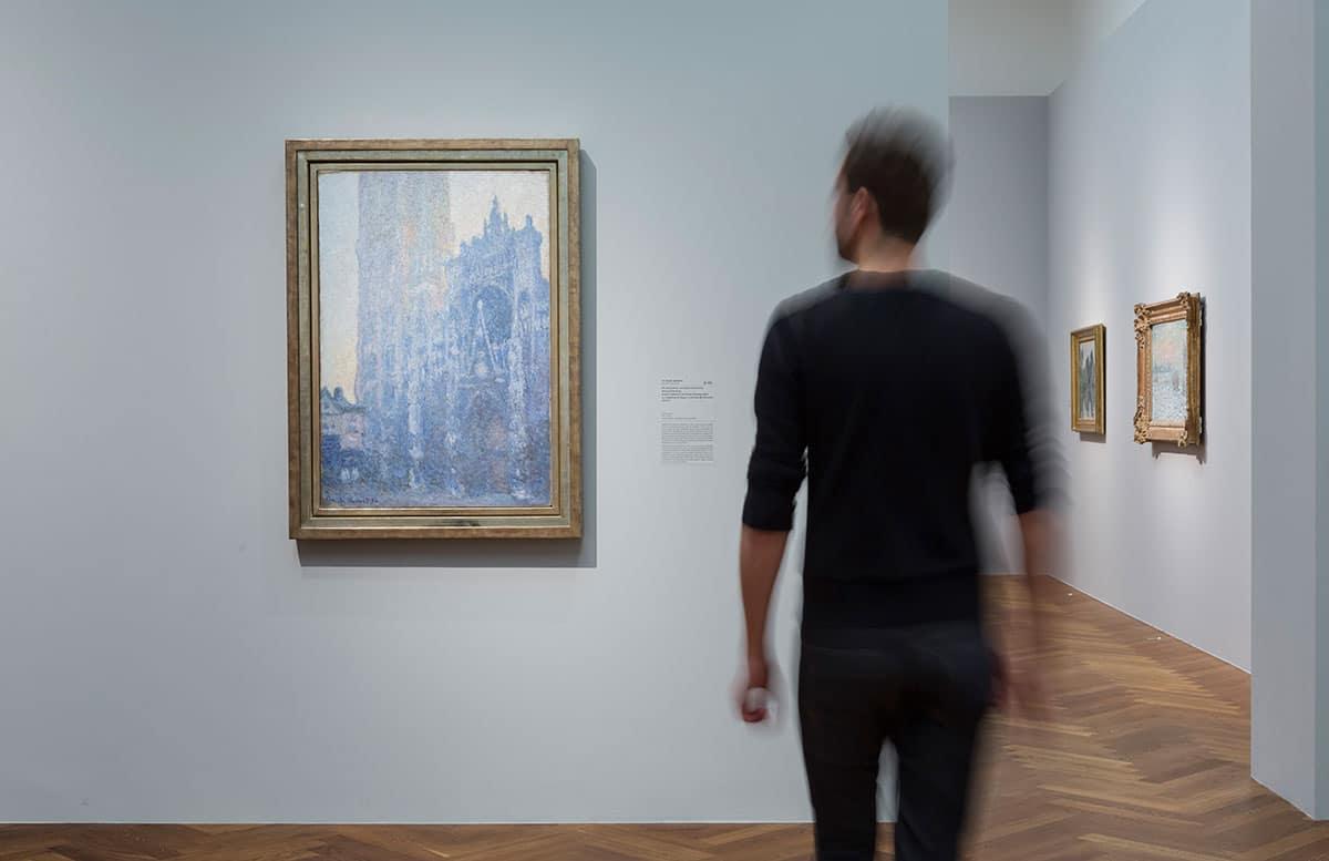 Städel Monet Ausstellungsansicht