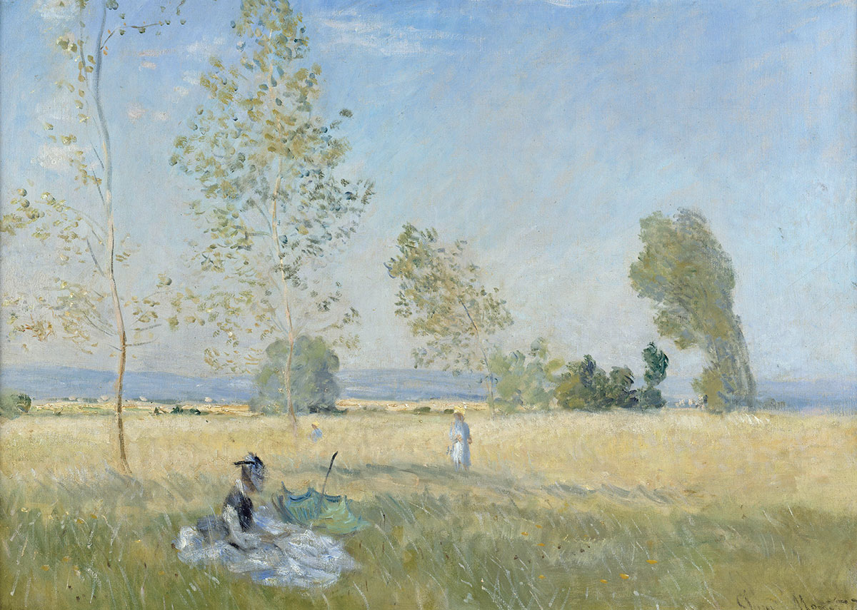 Claude Monet, Sommer, 1874