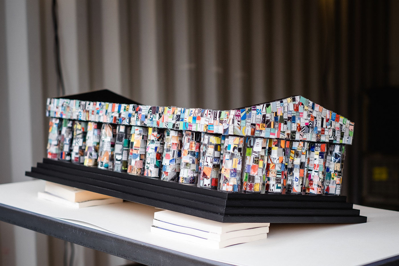 THE ARTS+ The Parthenon of Books