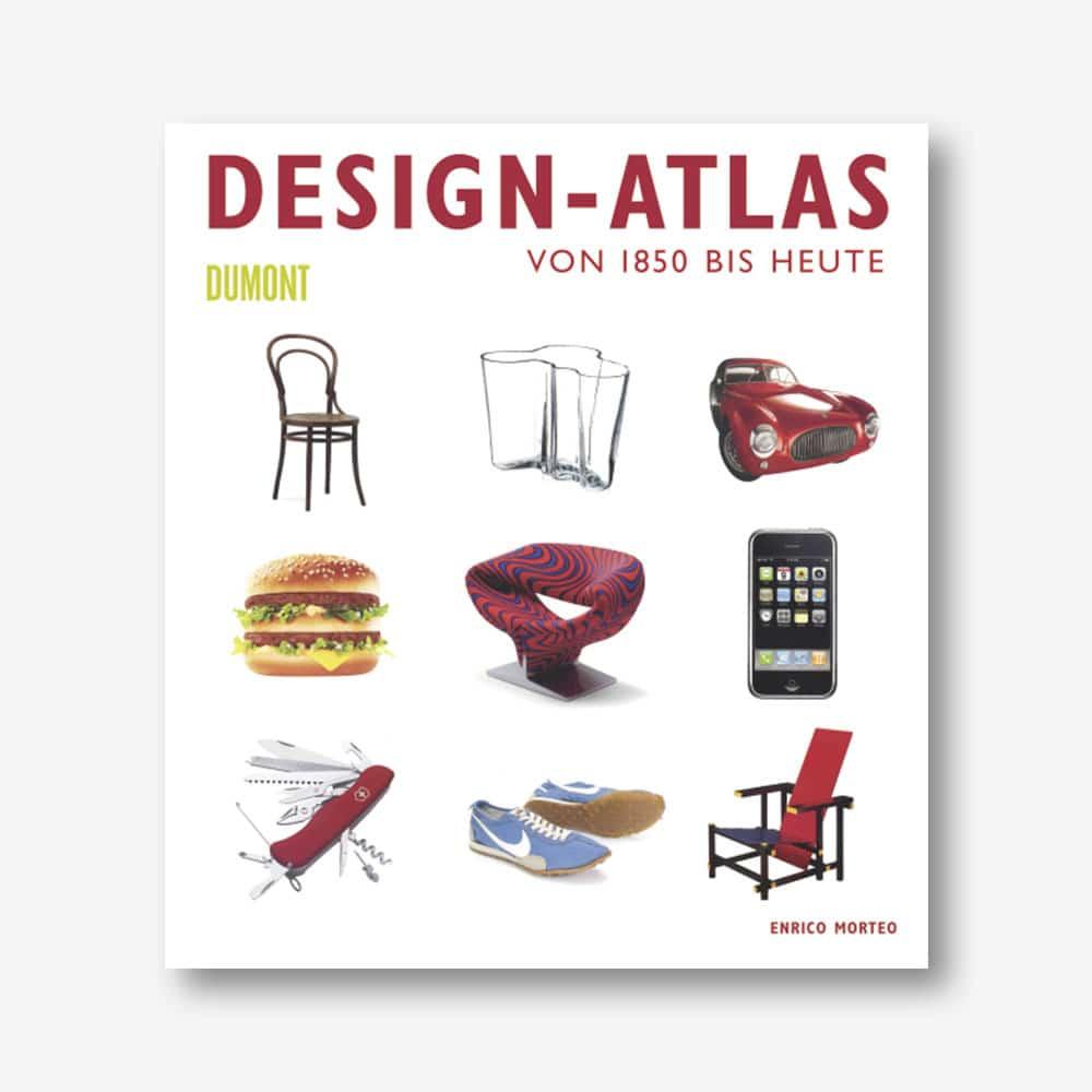 Enrico Morteo: Design-Atlas. Von 1850 bis heute