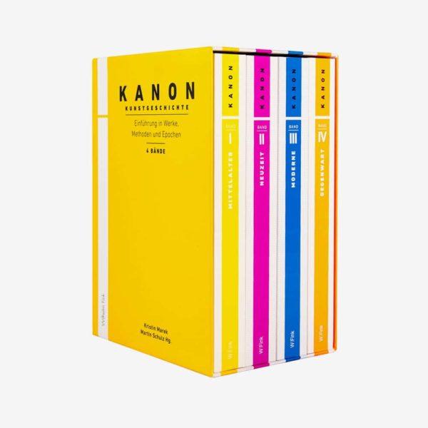 Kanon Kunstgeschichte 1-4. Einführung in Werke, Methoden und Epochen