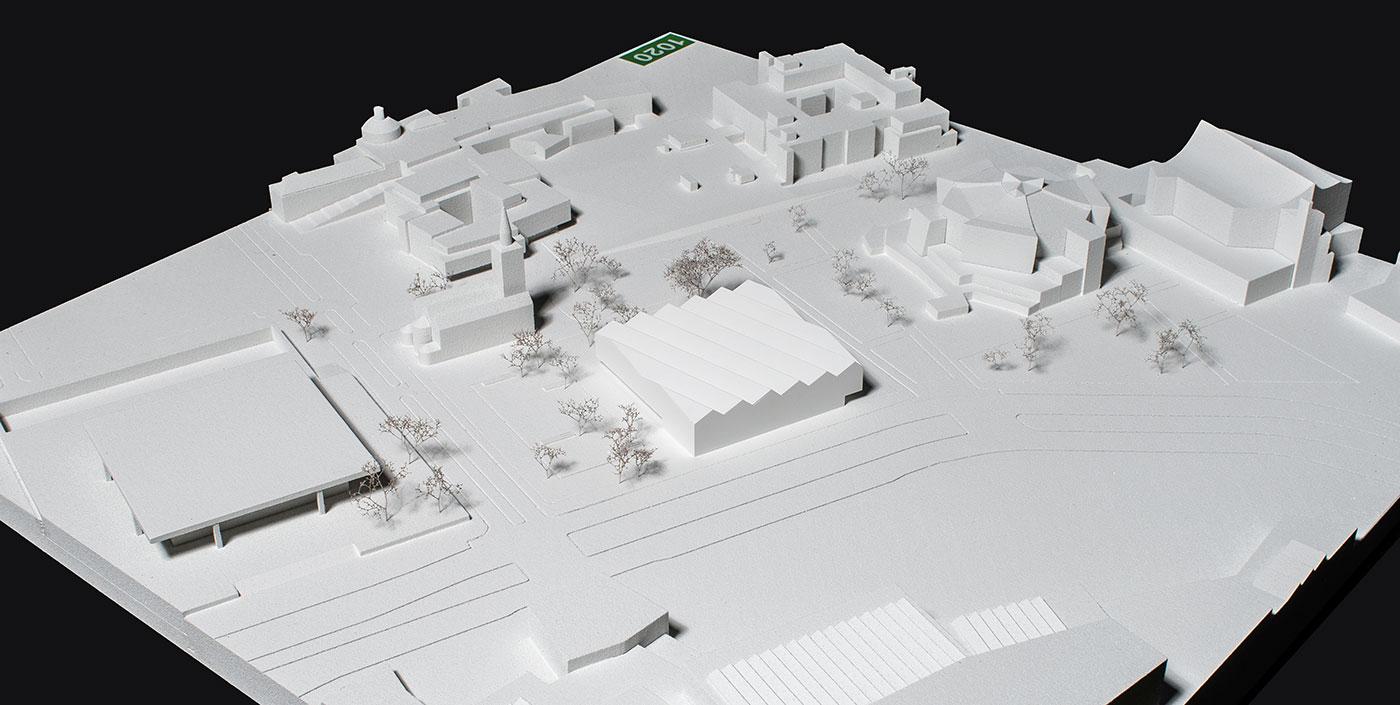 Neue Nationalgalerie Museum des 20. Jahrhunderts am Berliner Kulturforum - Platz 3