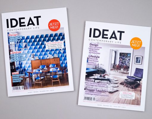 IDEAT Interior Magazin Cover