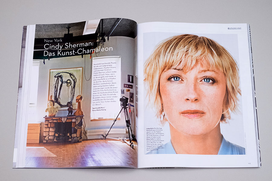 IDEAT 2 - Life - Studiobesuch bei Cindy Sherman