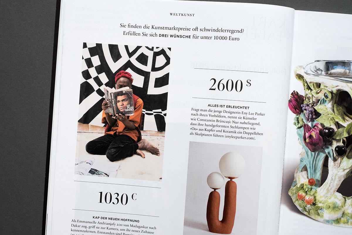 Weltkunst Magazin - 3 Wünsche