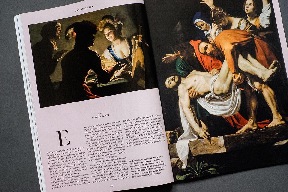 Weltkunst Magazin - Caravaggio