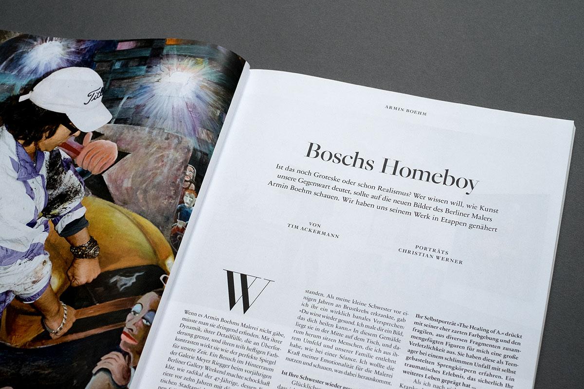 Weltkunst Magazin - Armin Boehm