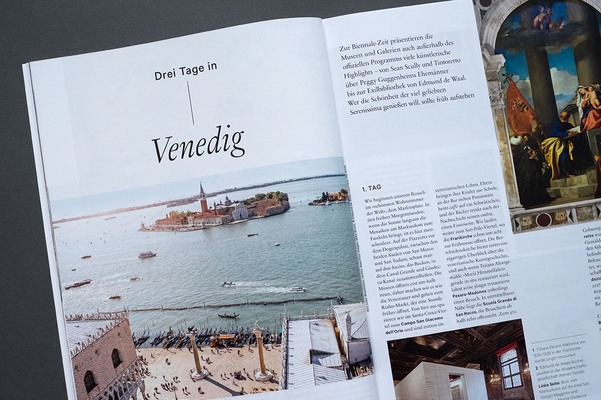 Weltkunst Magazin - 3 Tage in