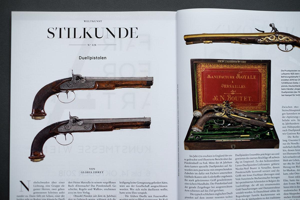Weltkunst Magazin - Stilkunde